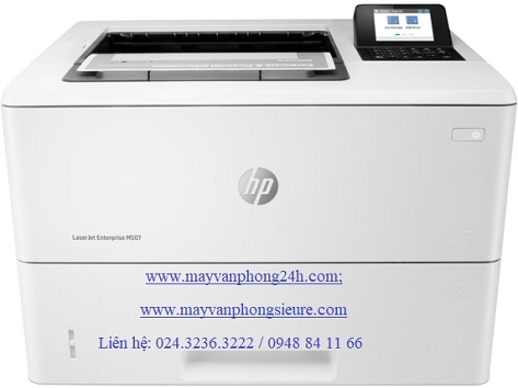 | Máy in HP LaserJet Enterprise M507dn
