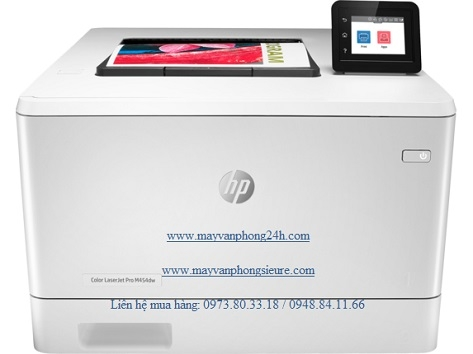 | Máy in HP Color LaserJet Pro M454dw
